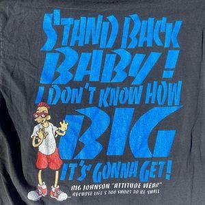 Hanes Shirts - Vintage Big Johnson Attitude tee